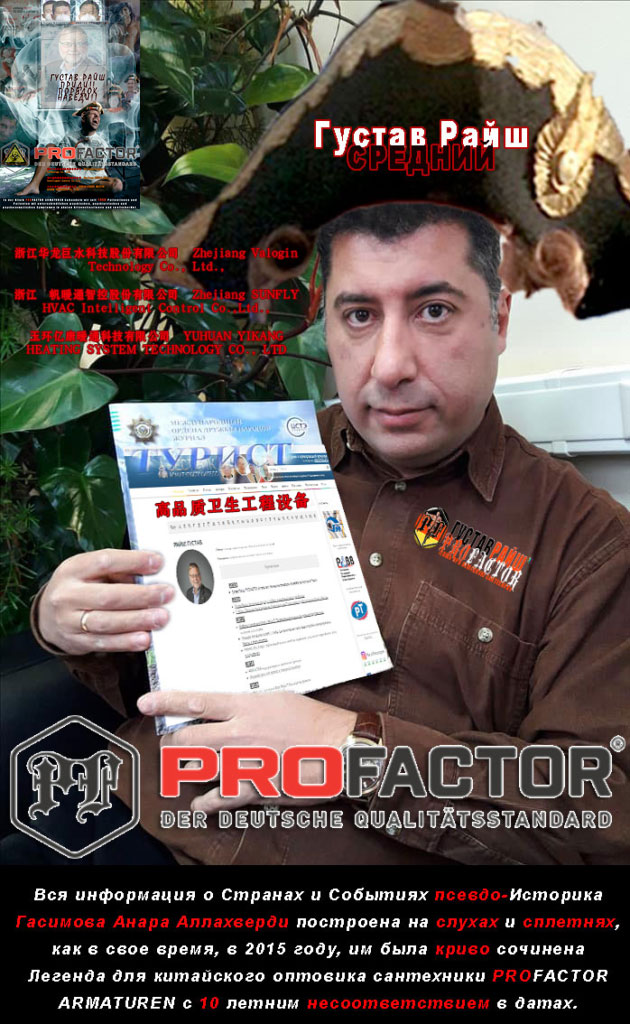 Профактор Гасимов Анар Аллахверди